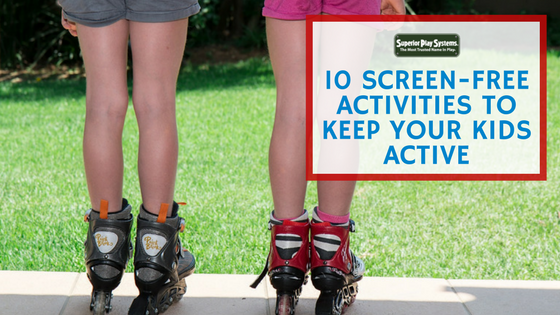 10 Screen-Free Activities to Keep Your Kids Active