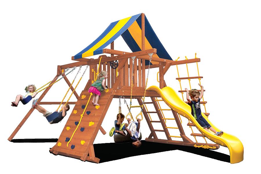 Original Playcenter with 2 Position Swingbeam