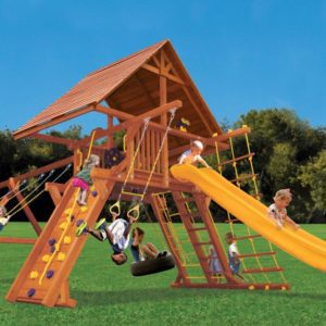 Supreme Playcenter Combo 2 w/Wood Roof
