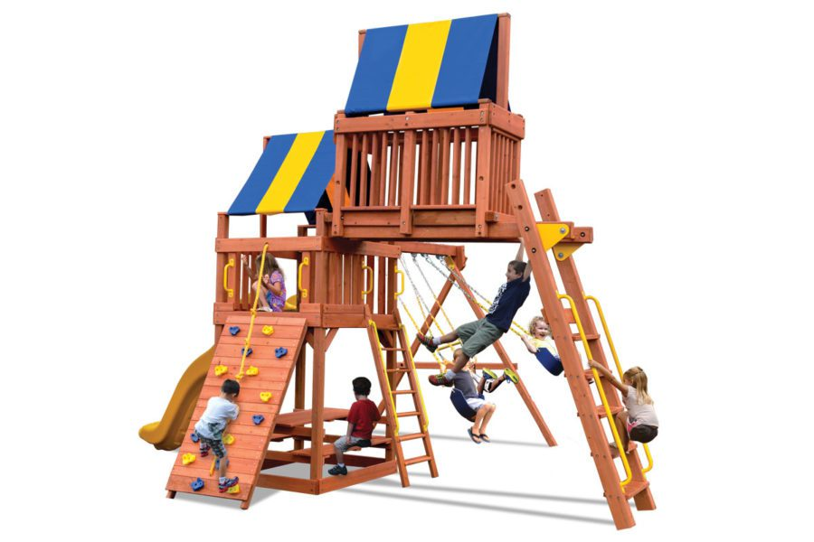 Turbo Original Fort Combo 4 BYB with Yellow Slide