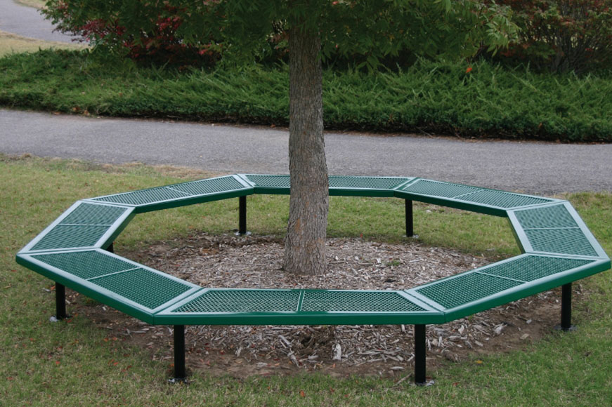 Geometric Style Benches