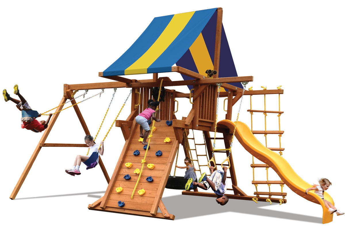 Deluxe Playcenter with 2 Position Swingbeam