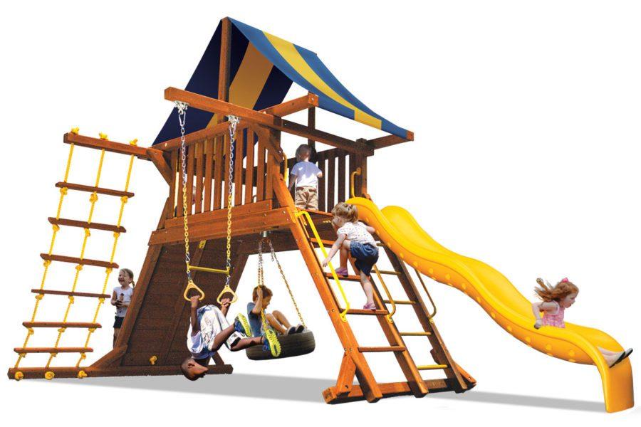 Original Playcenter Spacesaver 1 BYB w/Yellow Slide