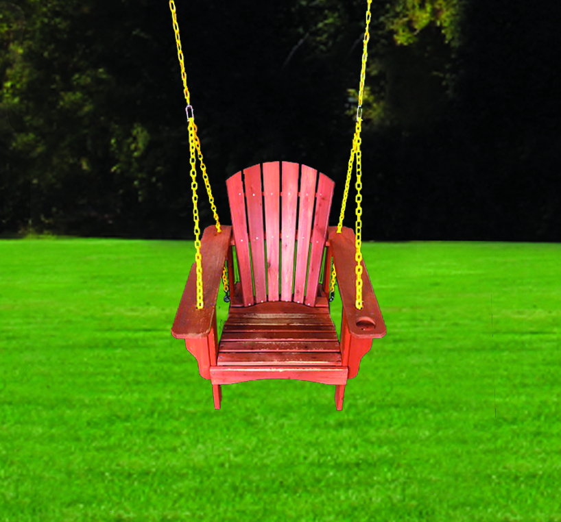Adirondack Chair Swing with Chains